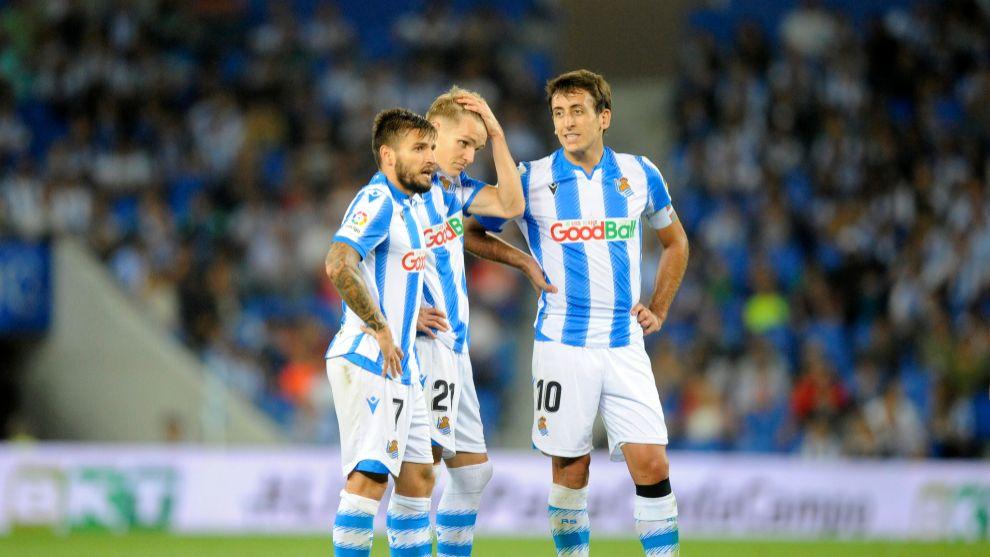 Portu, Odegaard y Oyarzabal, tres jugadores muy importantes para la...