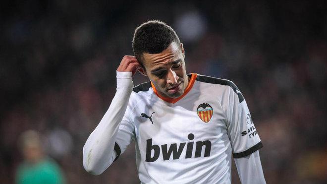 Rodrigo Moreno durante un partido de Liga.