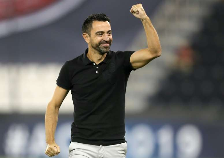 Coach-Xavi-enjoys-his-first-few-months-in-his-new-career