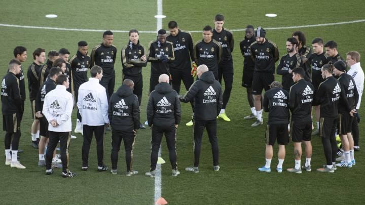 Zidane no pide fichajes al Real Madrid.